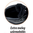 Compositelite szőrmebéléses védőbakancs