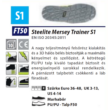 Steelite Mersey Trainer S1