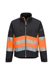 PW3 Hi-Vis Class 1 Softshell kabát