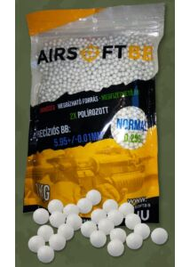 AIRSOFT BB – 0,25g Normál – 4000db/1kg