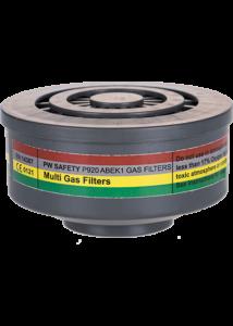 Gáz szűrő ABEK1 speciális menetes csatlakozás (4 db)