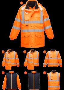 Hi-Vis 7:1 Traffic kabát