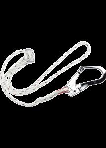 Állítható zuhanásgátló kötél 2m