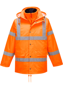 HiVis lélegző Traffic kabát (Interaktív)