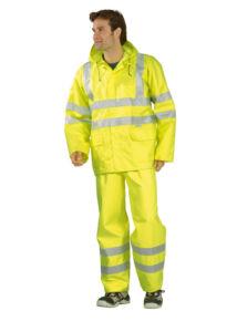 Eső elleni jólláthatósági dzseki