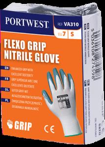 Flexo Grip nitril kesztyű automatákhoz