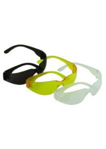 Védőszemüveg, víztiszta PC lencsével, PCkerettel