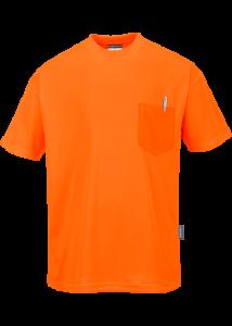 Day-Vis rövid ujjú zsebes póló