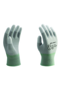 HJTG-0004-1 PU ujjakon mártott kesztyű