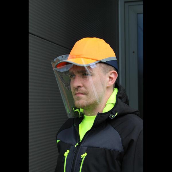 300 Micron APET Bump Cap arcvédő (100)