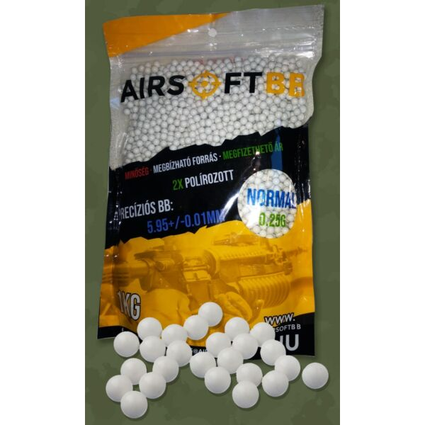 AIRSOFT BB – 0,30g Normál – 3333db/1kg