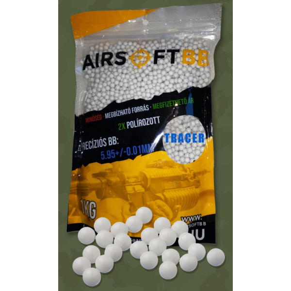 AIRSOFT BB – 0,25g Tracer – 4000db/1kg