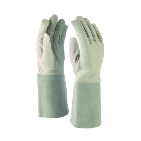 AWI hegesztőkesztyű juhbőr kézfejjel ésmarha hasítékbőr mandzsettával