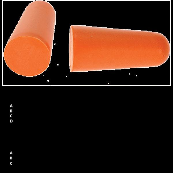 PU hab füldugó (200 db)