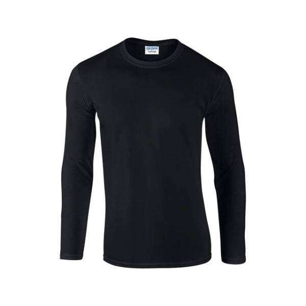 Softstyle Hosszú ujjú környakas póló 153 g