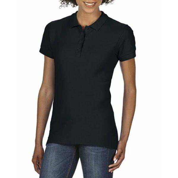Softstyle Női galléros póló 177 g