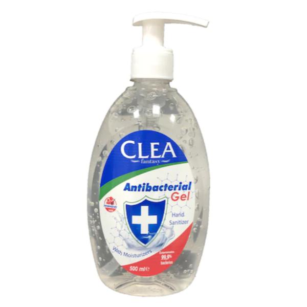 CLEA alkoholos kézfertőtlenítő gél, pumpás 500 ml
