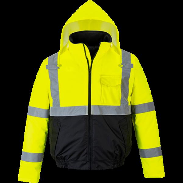 HiVis Essential Bomber kabát