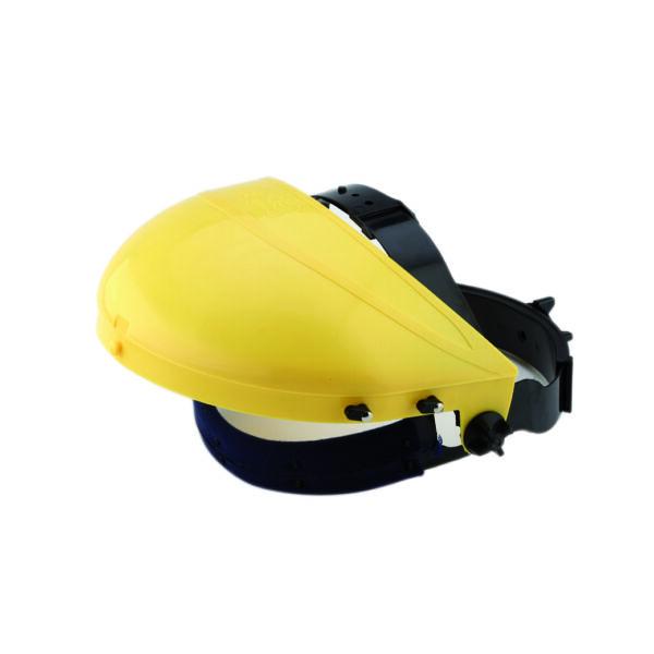 Homlokvédős arcvédő keret